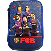 Vikas gift gallery Premium Pencil Boxes for Boys FCB Football Club 3D EVA Hardtop Pencil Pouches for Girls and Boys