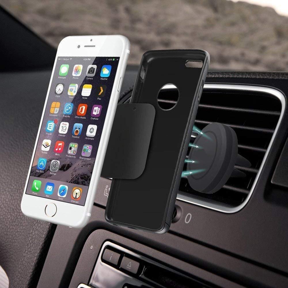 Phone Magnet Sticker, JTS Mount Metal Plate, Cell Phone Magnetic Plate (10 Pack) for Phone Magnet, Magnetic Mount, Car Mount Magnet (Black)