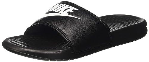 separation shoes f2f6e 83bb8 Nike - Benassi - Tongs - Homme - Noir (BlackWhite) - 36