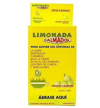 Calmadol Lime Pain Reliever 100 Envelopes - Calmante en Sobres Sabor Limon (Pack of 1