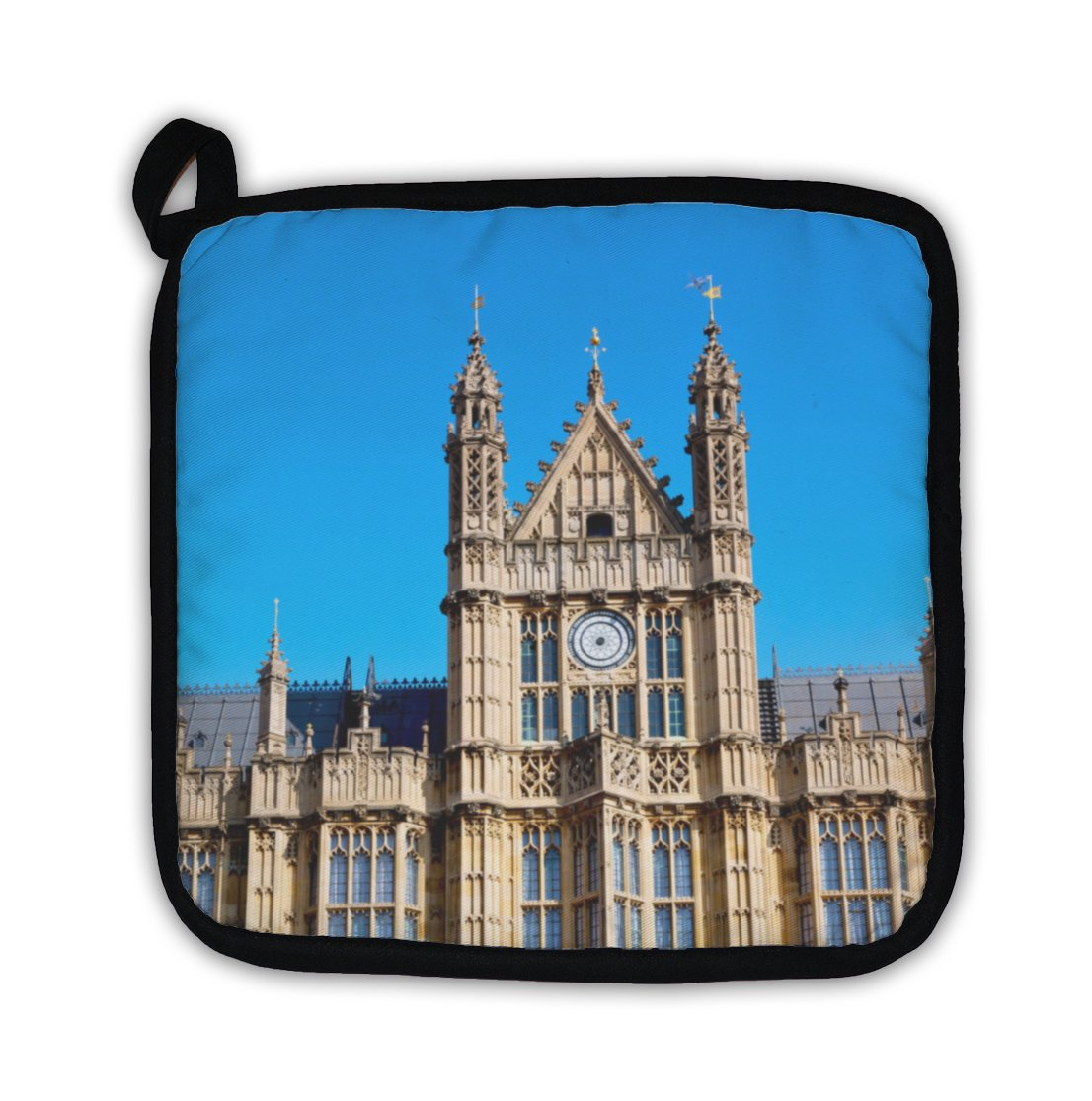 Gear New in London Old Historical Parliament Glass Window Structure Pot Holder