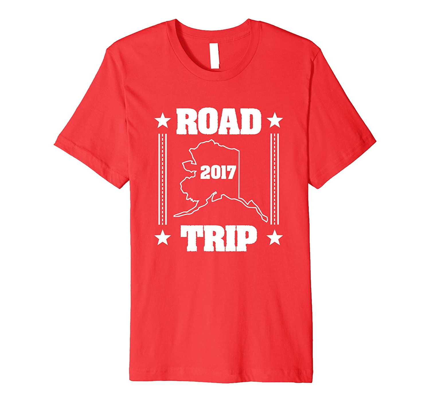 2017 Alaska Road Trip Premium T-Shirt-CD