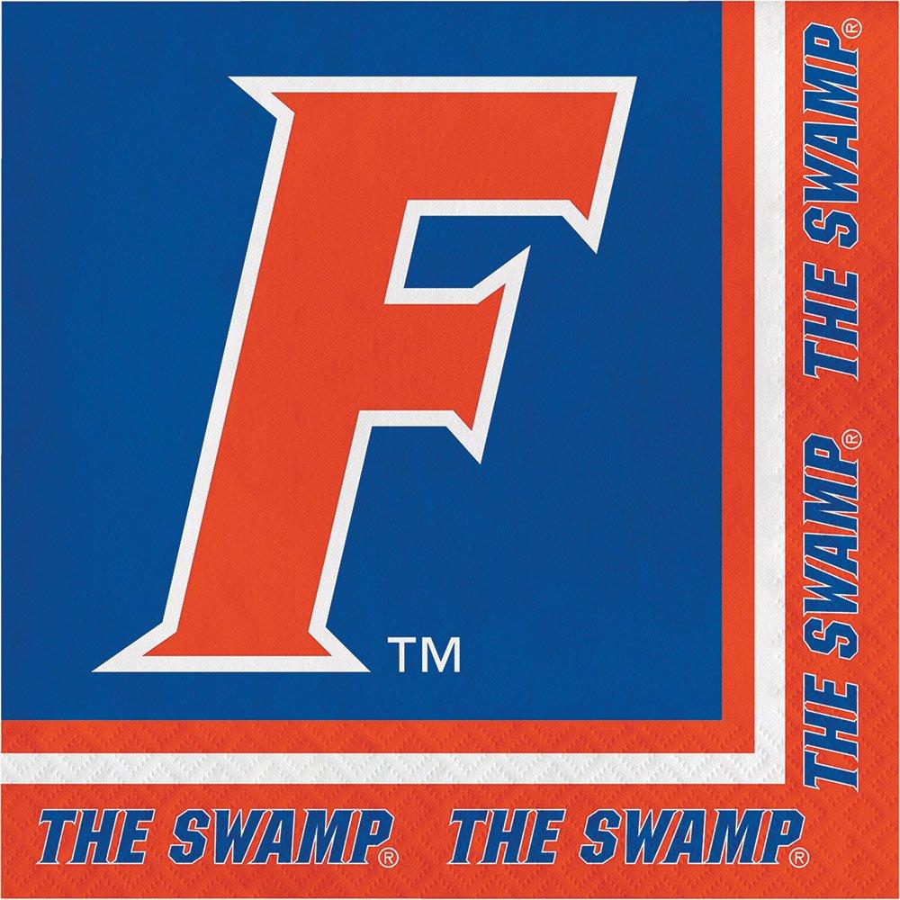 40フロリダ大学Gators 2-plyプレミアムLunch Napkins College Football Party Tailgating B078N38VN3