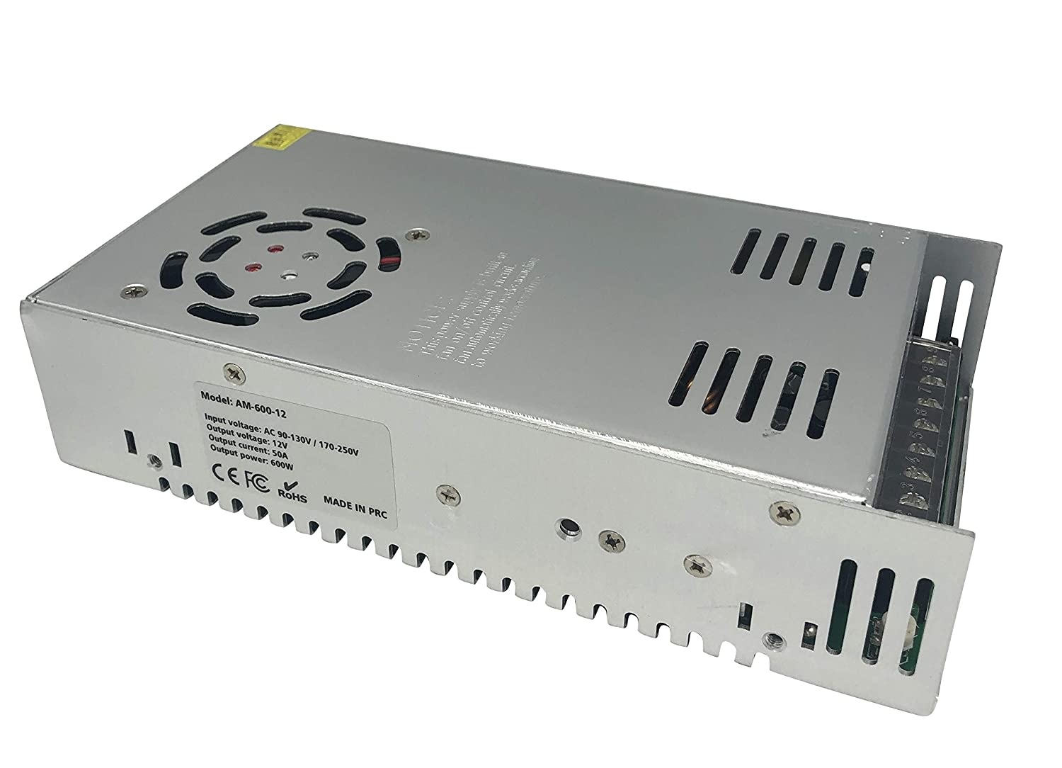 12V 50A DC Switching Power Supply 600w for CCTV LED Computer Project Radio