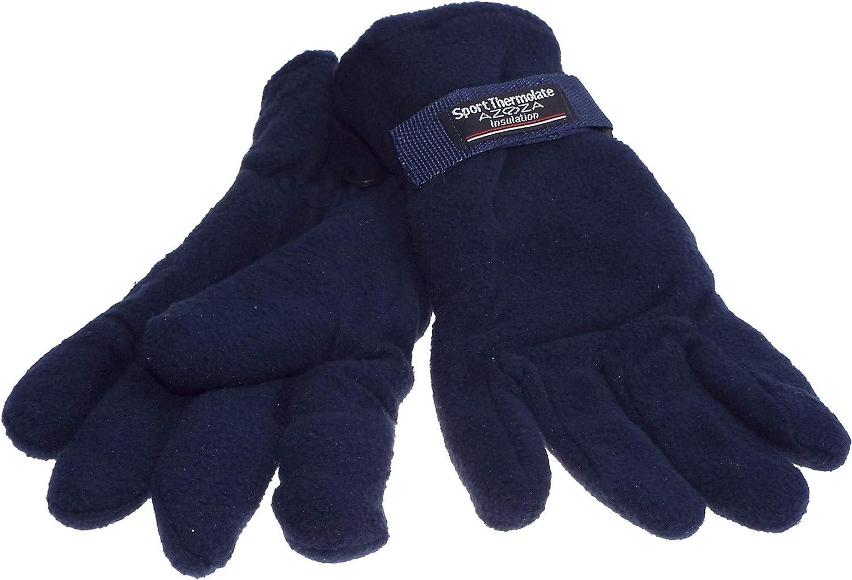4 coloris 1 paire de gant homme sport Thermolate polaire isolant