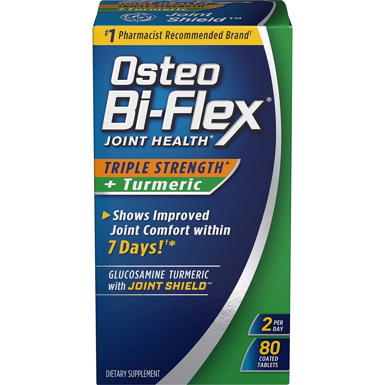 Amazon.com: Osteo BI-FLEX + Turmeric, 80 de triple Fuerza ...
