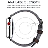 Fullmosa Compatible Apple Watch Band 38mm 40mm 42mm