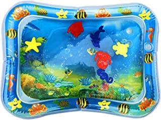 StillCool Inflatable Tummy Time Premium Water Mat Infants & Toddlers, The Perfect Fun Time Play Activity Center Your Baby's Stimulation Growth