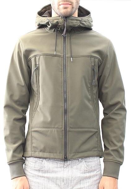 C.P. COMPANY 03CM0W026A003813A chaqueta Hombre Verde militar 46: Amazon.es: Ropa y accesorios