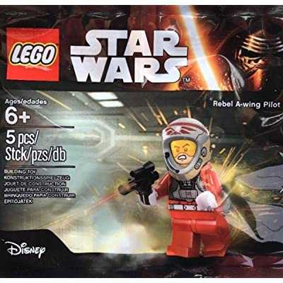 LEGO Star Wars Rebel A-Wing Pilot Bagged Minifigure: Toys & Games