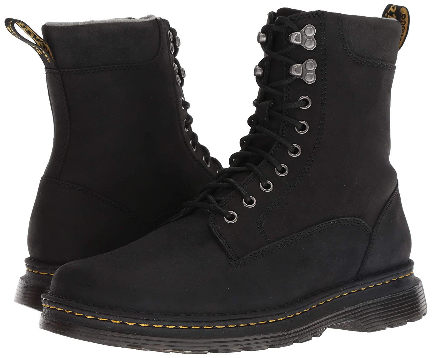 Dr. Dr. Dr. Martens Men's Vincent Hook Mid Calf Stiefel, schwarz, 9 M UK (10 US) e5771d