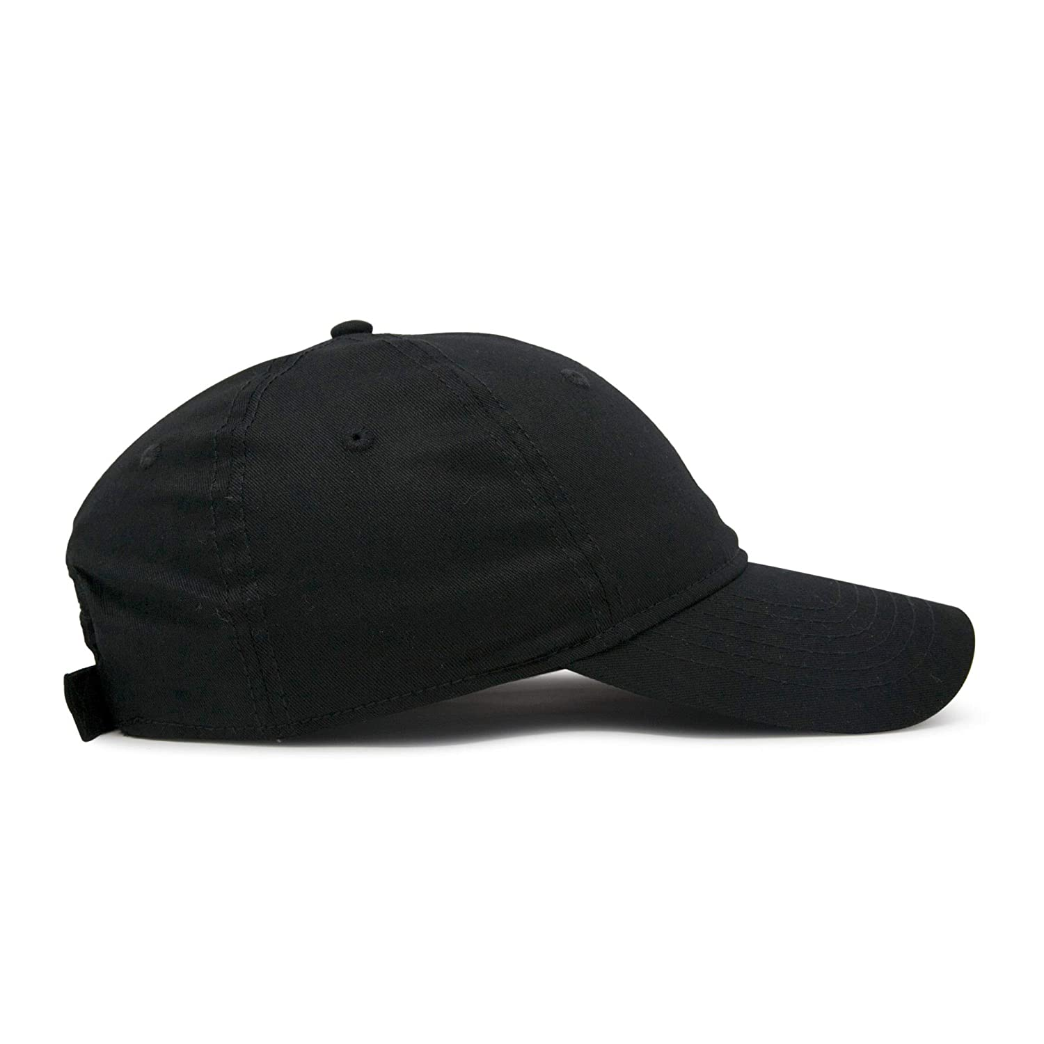 46be0ce0d7ce0 Amazon.com  DALIX Womens Hat Lightweight 100% Cotton Cap in Black  Clothing