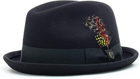 Brixton Mens Gain Fedora Hat