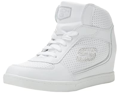 skechers wedge trainers