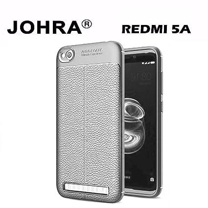 brand new 987a1 92838 Johra Soft Silicone TPU Flexible Grey Auto Focus Back Cover for Xiaomi Mi  Redmi 5A - Redmi 5A Back Cover