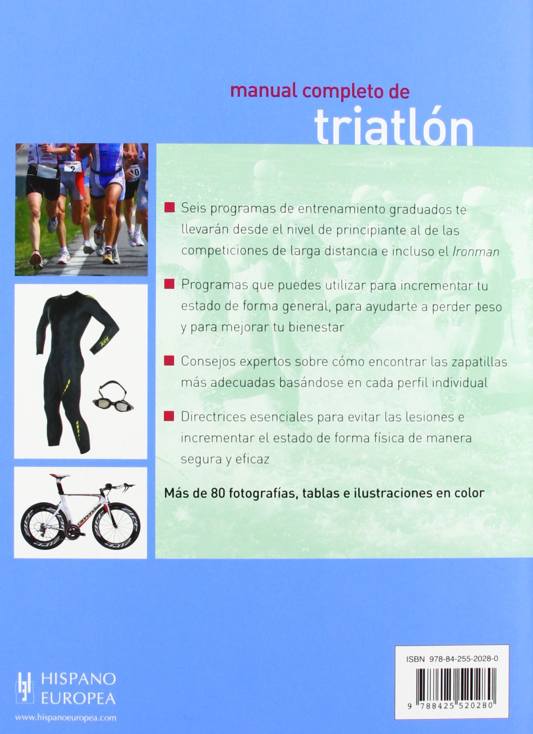 Manual completo de triatlon / Triathlon Complete Manual (Spanish Edition): Oliver Roberts: 9788425520280: Amazon.com: Books