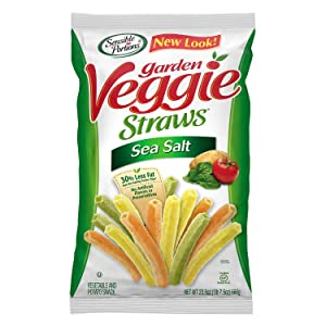 Sensible Portions Garden Veggie Straws, Sea Salt, 23.5 oz.