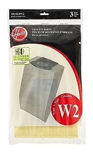 Hoover Type W2 Allergen Filter Bag (6 Pack) Part #401010W2