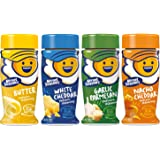 Kernel Season's Popcorn Seasoning 4 Flavor Variety Bundle: (1) Kernel Season's White Cheddar Popcorn Seasoning, (1) Kernel Se