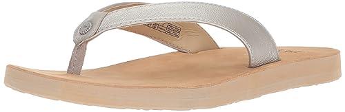 22e71e10794 UGG Women's Tawney Metallic Flip-Flop