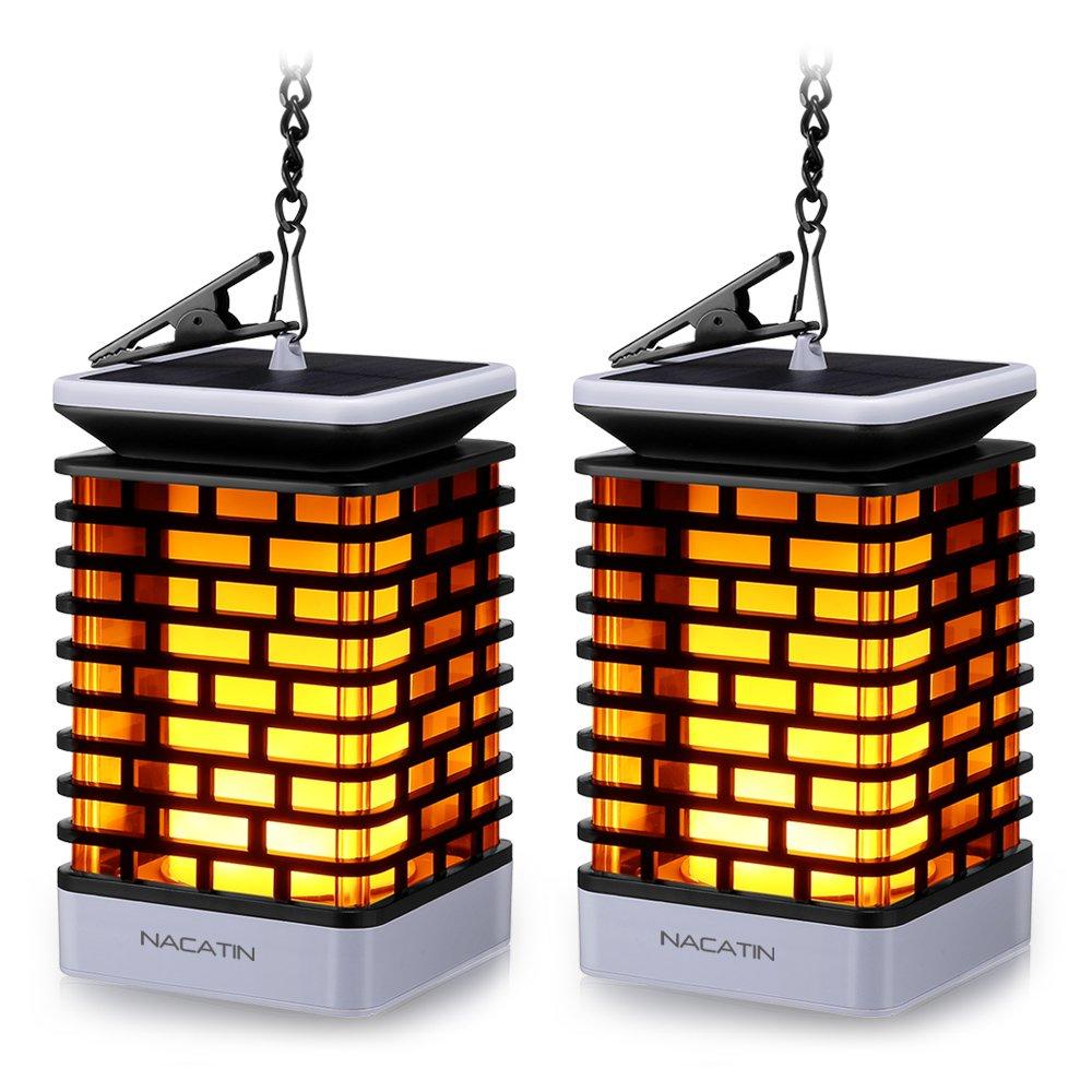 2 lámparas solares