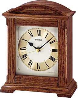 Clock Mantel Seiko Home Wooden ukKitchenamp; Qxj013bAmazon Clocks co MGqUVzSp