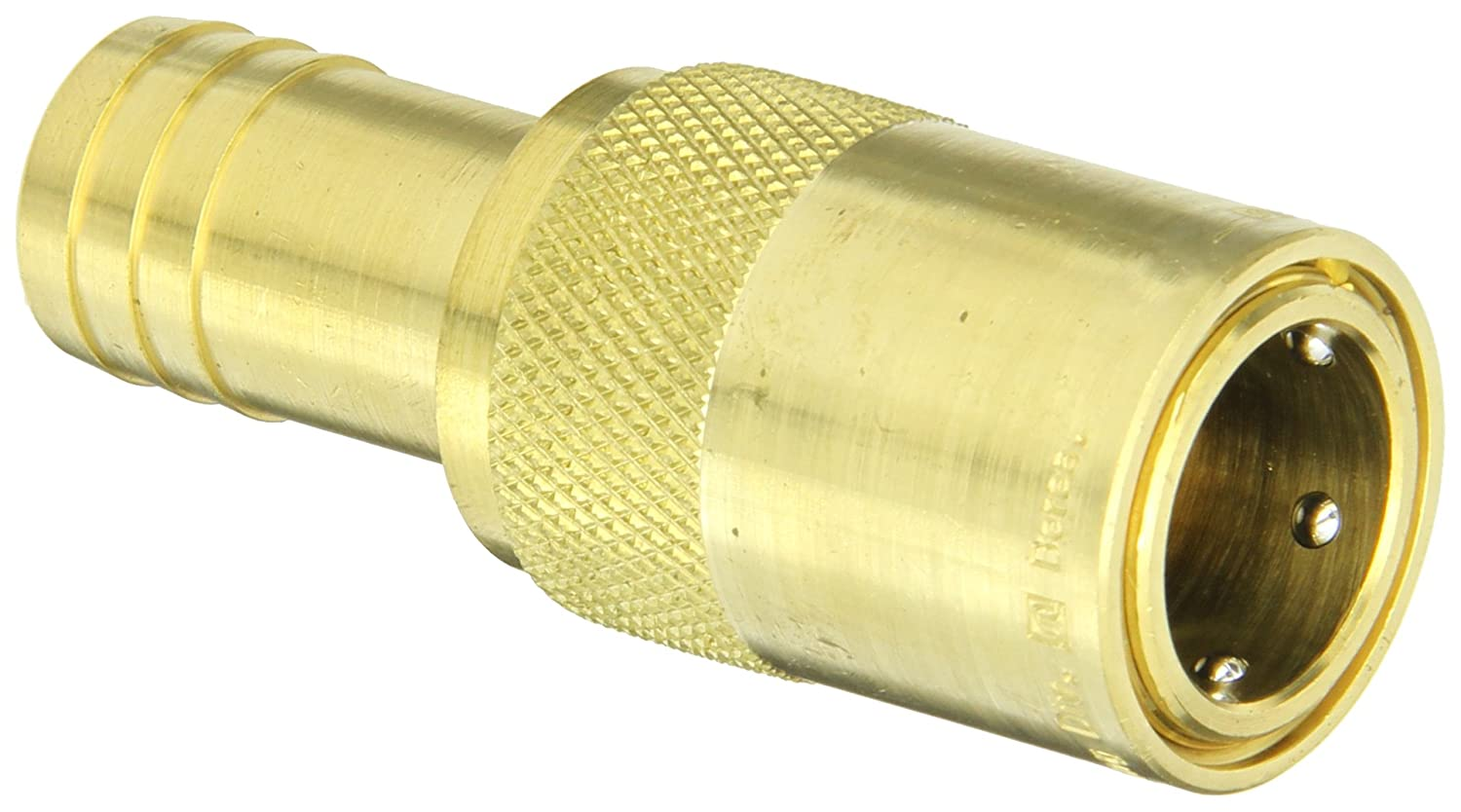 Eaton Hansen FTS506 Brass Straight Hose Stem Hydraulic Fitting, Socket, 3/4