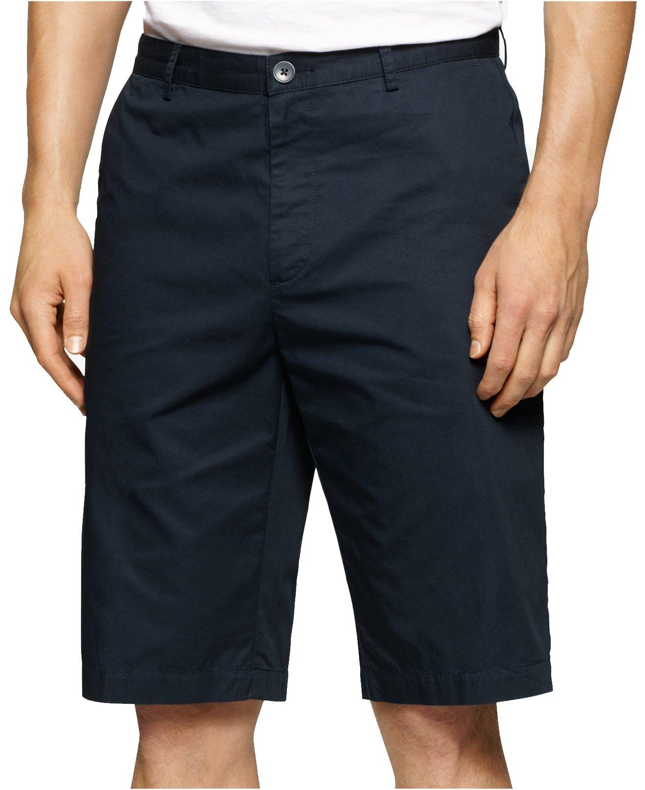 Calvin Klein Men's Big & Tall Twill Walking Short (48W R, Navy Blazer)