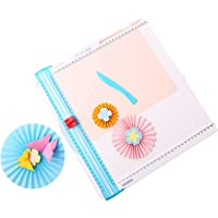 Alisa 2-In-1 Desktop Paper Cutter Foldable Craft Paper Trimmer 12.2 Inch Cutting Length with Straight Edge Cutter Fold…