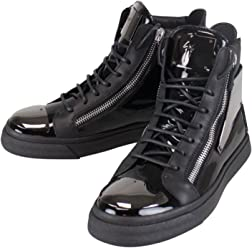 GIUSEPPE ZANOTTI London Vernice Hi-Top Sneakers Shoes 7.5 US 40.5 EU