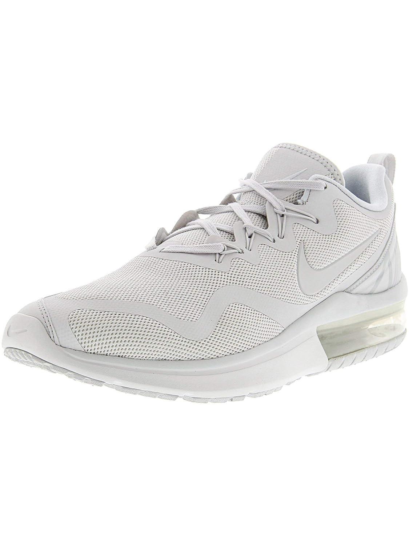 Acquista NIKE Men's Sneakers Air Max Fury Running Shoes (11 D(M) US, White/Pure Platinum) miglior prezzo offerta