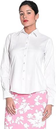 BROOKS BROTHERS Camisa Mujer Blanco ES 40/44 (US 6): Amazon.es: Ropa y accesorios