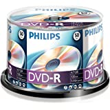 PHILIPS DVD-R 4.7 GB Data/120 min. 16 X Spindle de 50