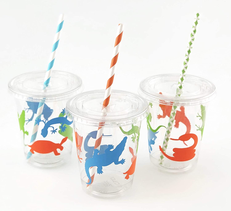 Amazon.com: Vasos para reptiles – 12 ct anfibio cumpleaños ...