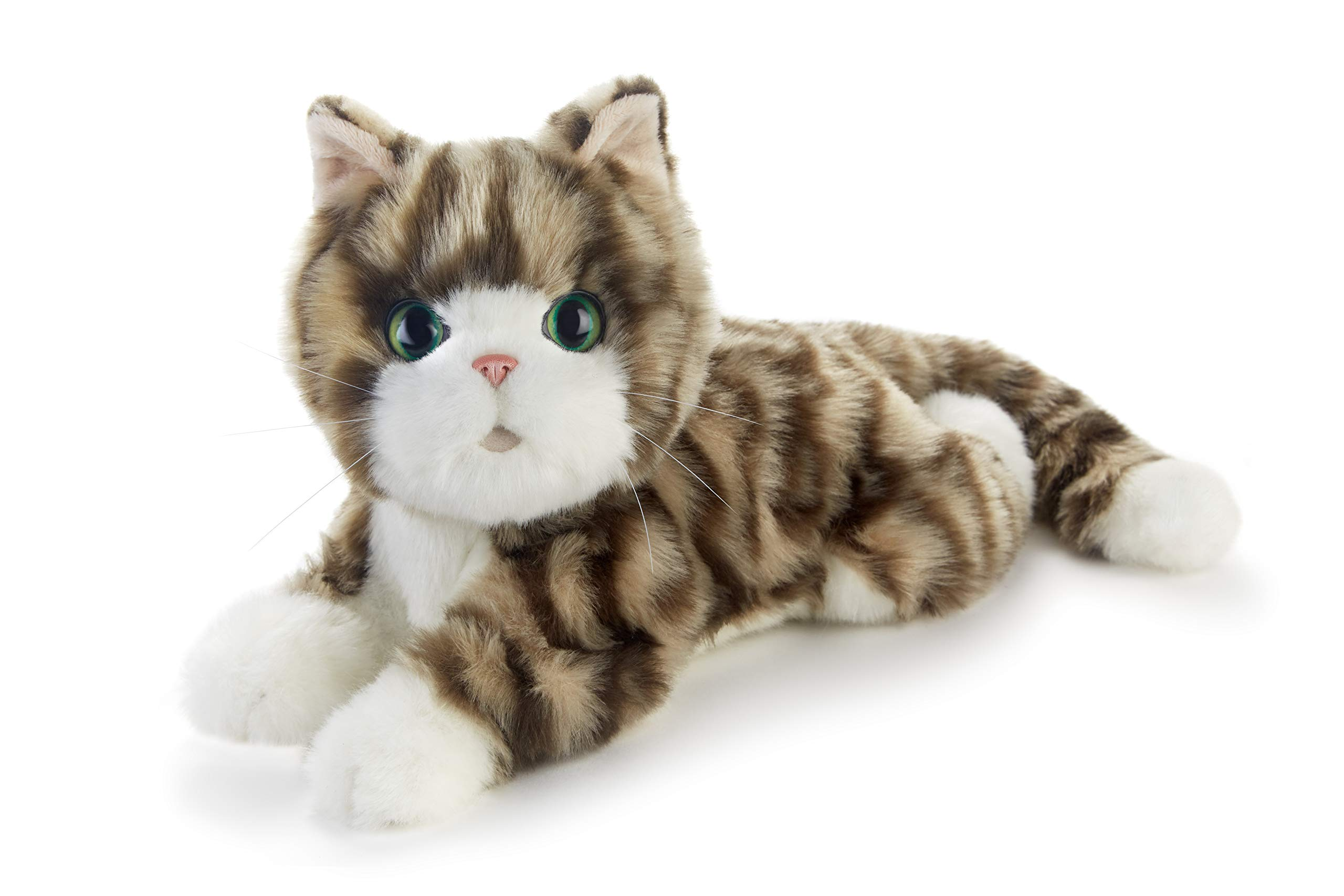 Ageless Innovation, Joy For All Companion Pets, Silver Tabby Kitten, Lifelike & Realistic, Comfort, Joy & Companionship by JOY FOR ALL
