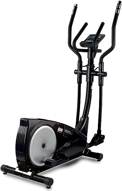 BH i.NLS12 Dual Black Bicicleta elíptica magnetica. Zancada de 30 ...