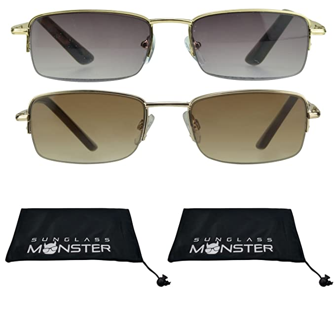 752e77edc7 Amazon.com  2 Pairs Reading Glasses Tinted Sun Readers