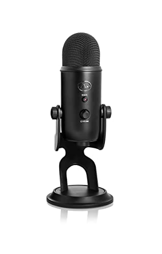 Blue Yeti USB Microphone - Blackout