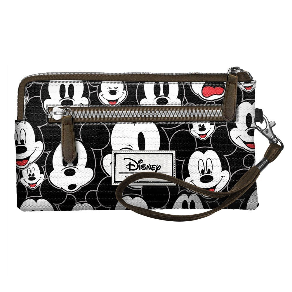 Disney Classic Mickey Visages Beauty Case, 21 cm, Nero (Negro) Karactermania 36543