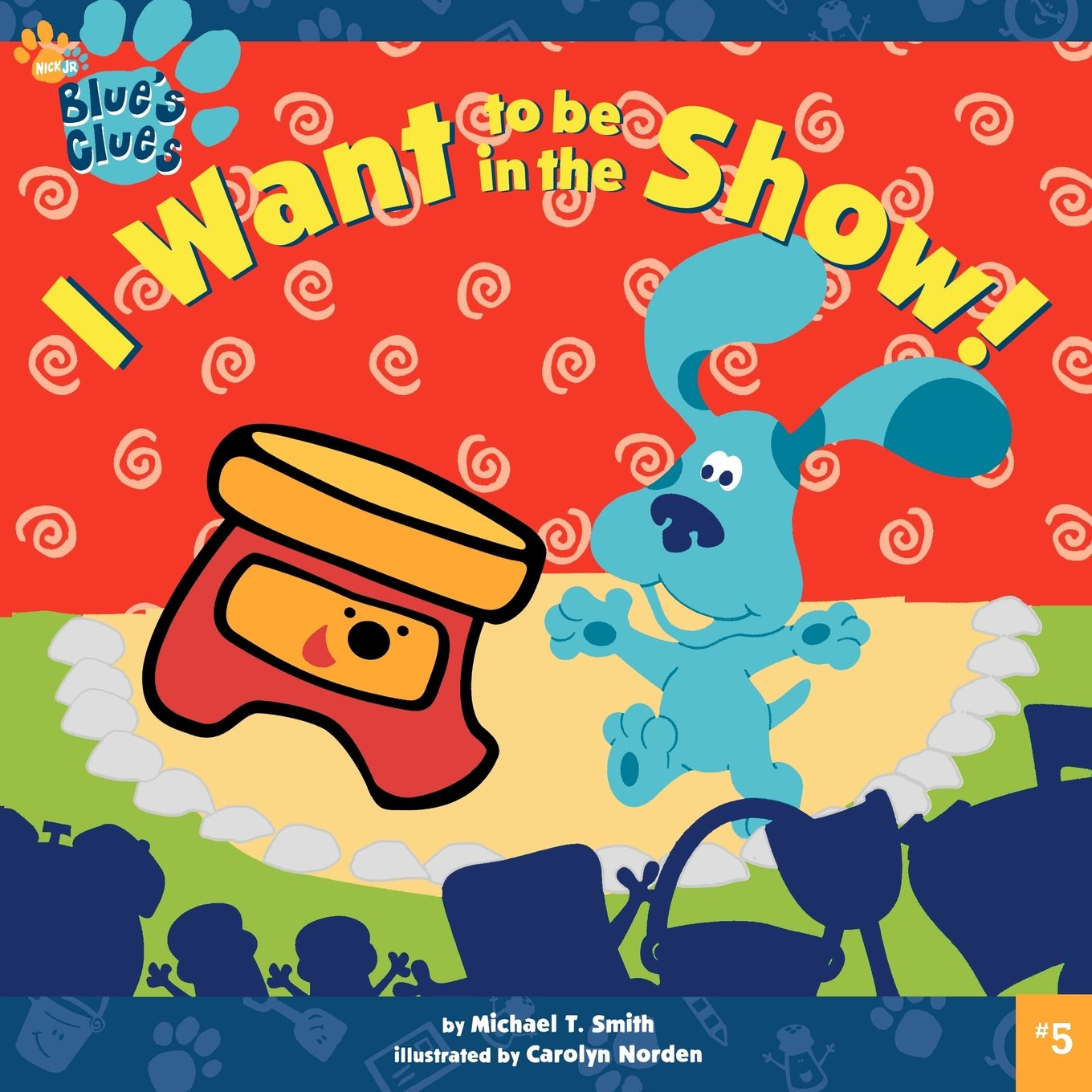 amazon com i want to be in the show blue u0027s clues
