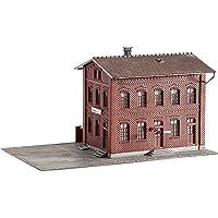 Faller - Edificio industrial de modelismo ferroviario (13.5x23.8x13.9 cm)