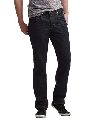 e89a722e48 Aeropostale Mens Slim Straight Dark Wash Jeans at Amazon Men s ...