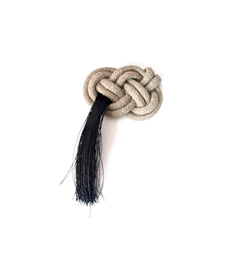 Amazon com: Concrete Josephine Knot brooch for women in