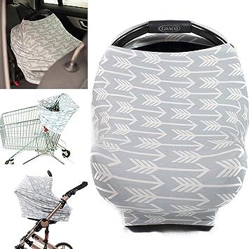 Amazon.com: Toldo Cover de lactancia, asiento de coche ...