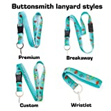 Buttonsmith Tropical Fish Premium Wristlet - Made