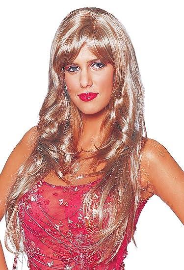 Amazoncom Blonde Dream Girl Wig Movie Star Costume Accessory Clothing