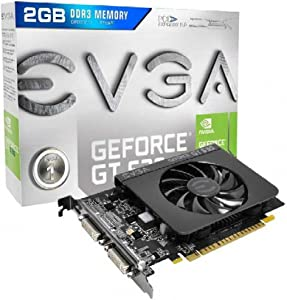 2PW2813 - EVGA GeForce GT 630 Graphic Card - 810 MHz Core - 2 GB DDR3 SDRAM - PCI Express 2.0