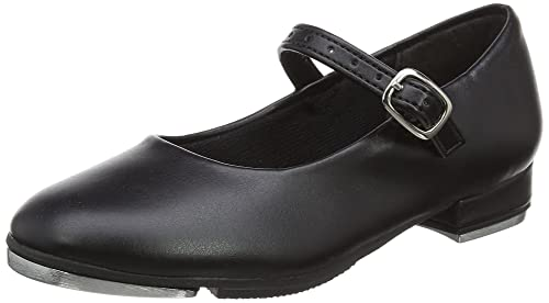 So Danca Ta06/07, Zapatos De Tap para Niñas, Negro (Black), 24 EU