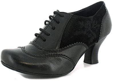 the best uk cheap sale best loved New Women/Ladies Black Hush Puppies Eternal Victorian Style ...