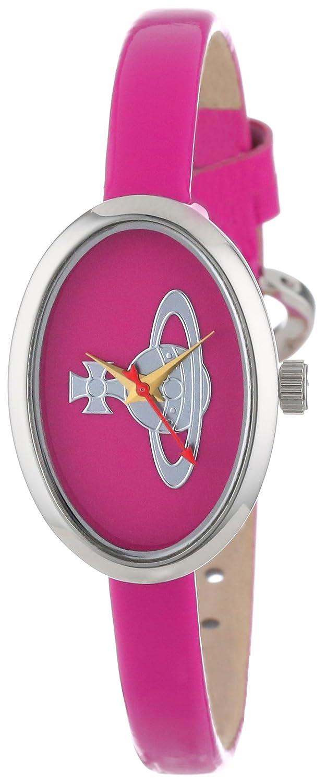 Vivienne Westwood Damen-Armbanduhr Medal Analog Leder pink VV019PK